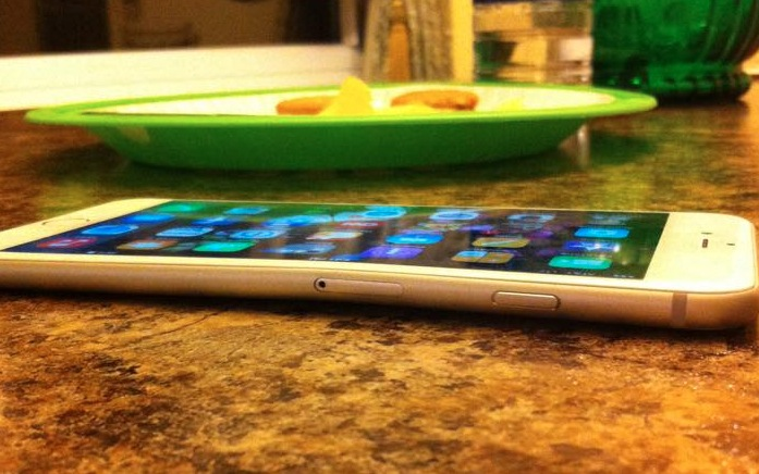 iPhone 6 buigen